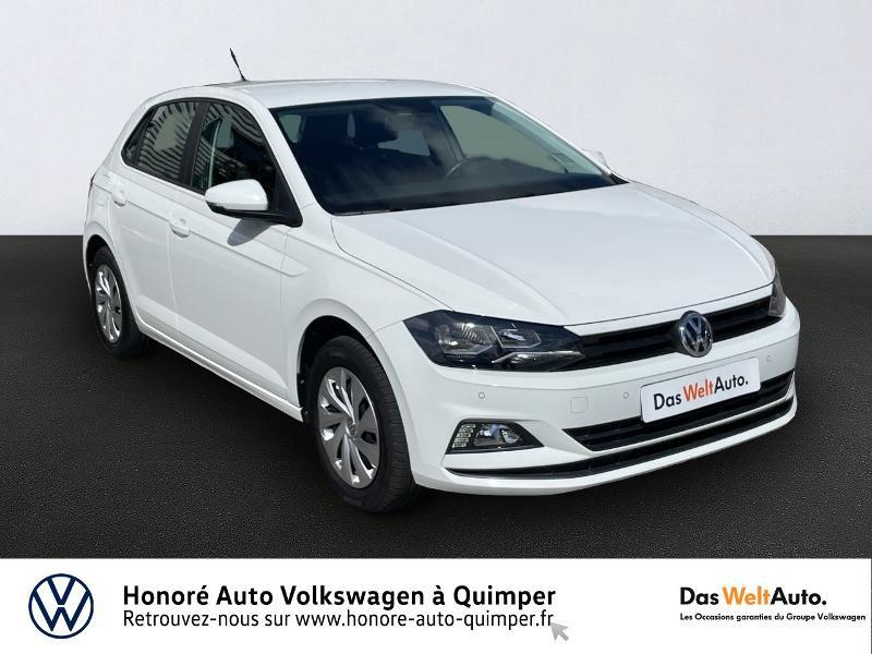 Volkswagen Polo 1.0 65ch Trendline Business Essence blanc Occasion à vendre