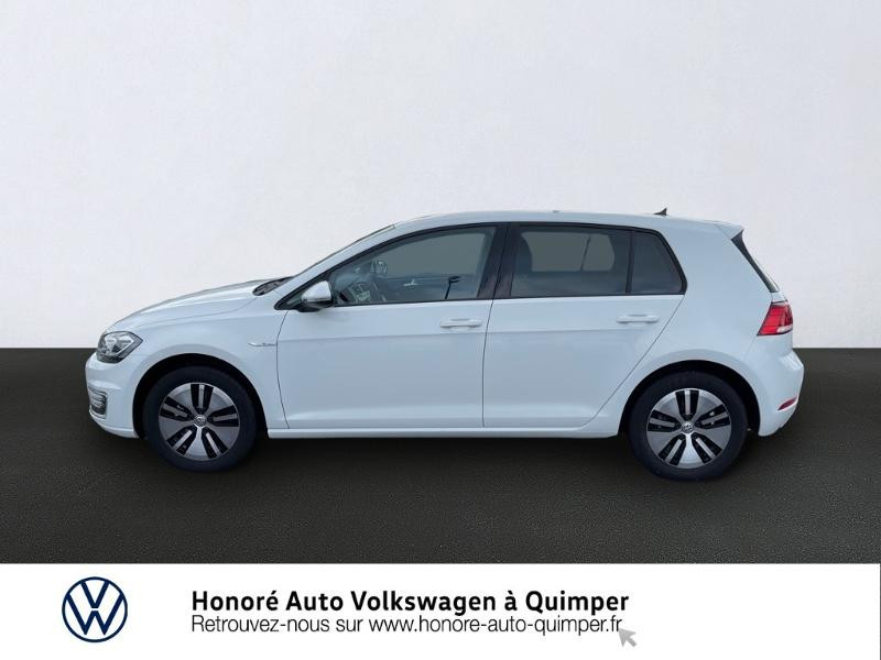 Photo 2 de l'offre de VOLKSWAGEN e-Golf 136ch à 23900€ chez Honore Auto - Volkswagen Quimper