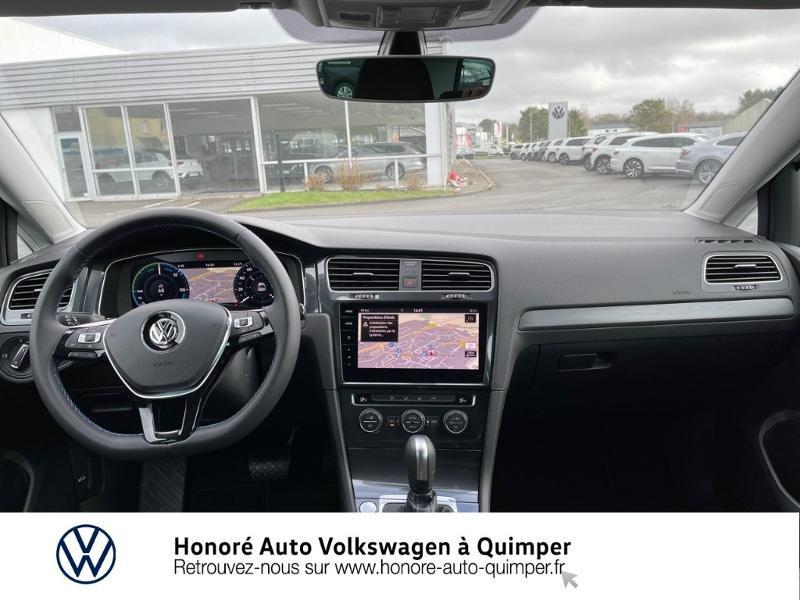 Photo 6 de l'offre de VOLKSWAGEN e-Golf 136ch à 23900€ chez Honore Auto - Volkswagen Quimper