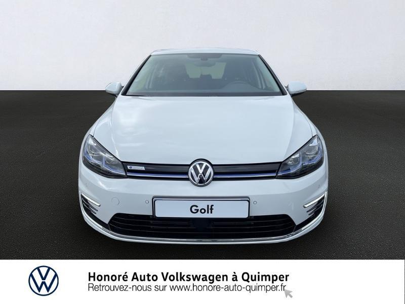 Photo 5 de l'offre de VOLKSWAGEN e-Golf 136ch à 23900€ chez Honore Auto - Volkswagen Quimper