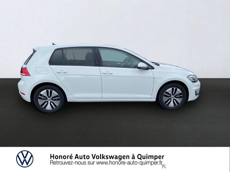 Photo 4 de l'offre de VOLKSWAGEN e-Golf 136ch à 23900€ chez Honore Auto - Volkswagen Quimper