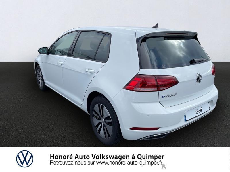 Photo 3 de l'offre de VOLKSWAGEN e-Golf 136ch à 23900€ chez Honore Auto - Volkswagen Quimper