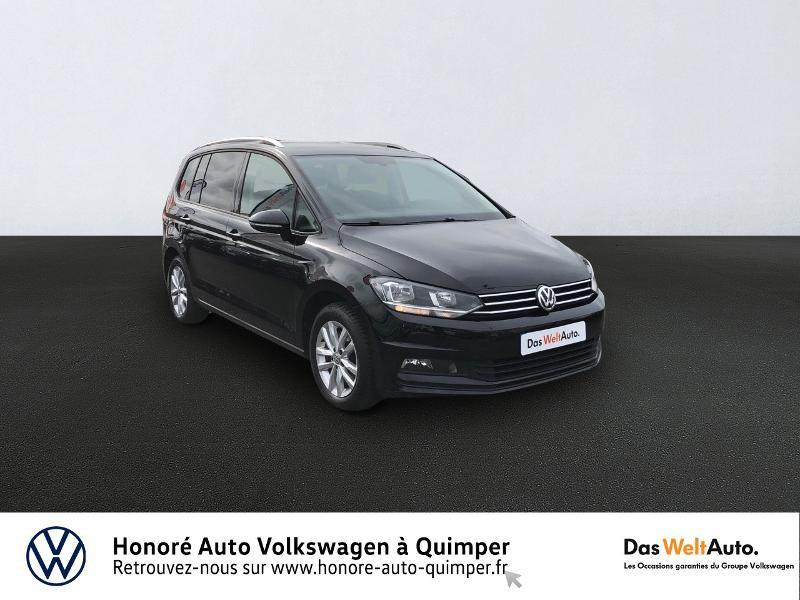 Volkswagen Touran 1.6 TDI 115ch FAP Confortline Business DSG7 7 places Euro6d-T Diesel NOIR Occasion à vendre