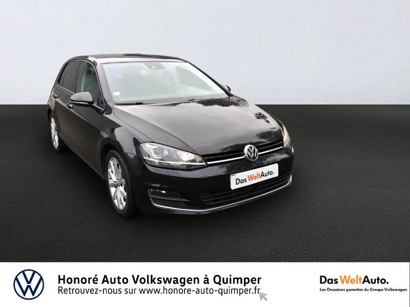 Volkswagen Golf 2.0 TDI 150ch BlueMotion Technology FAP Carat DSG6 5p Diesel noir Occasion à vendre