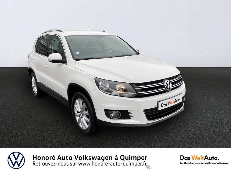 Volkswagen Tiguan 2.0 TDI 110ch BlueMotion Technology FAP Sportline Diesel BLANC Occasion à vendre