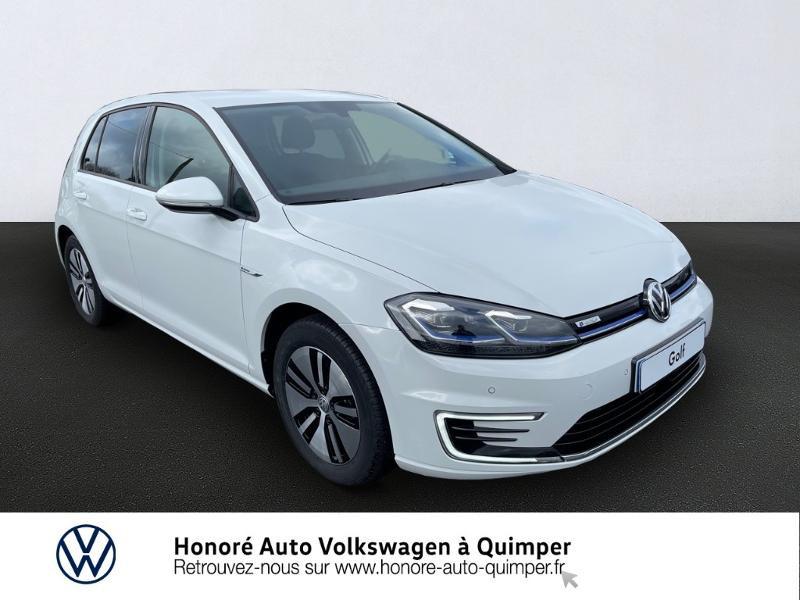 Volkswagen e-Golf 136ch Electrique blanc pur Occasion à vendre