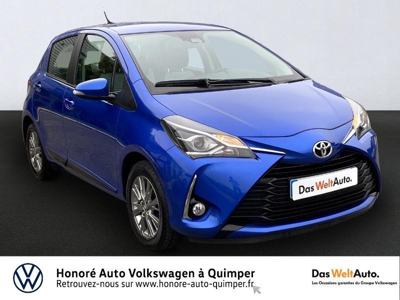 Toyota Yaris 110 VVT-i Dynamic 5p Essence bleu Occasion à vendre
