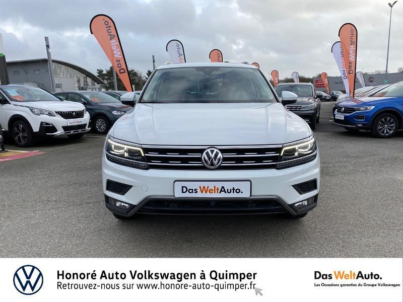 Photo 19 de l'offre de VOLKSWAGEN Tiguan 2.0 TDI 190ch Carat Exclusive 4Motion DSG7 à 26890€ chez Honore Auto - Volkswagen Quimper
