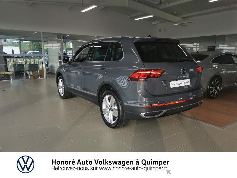 Photo 23 de l'offre de VOLKSWAGEN Tiguan 2.0 TDI 200ch Elegance 4Motion DSG7 à 46900€ chez Honore Auto - Volkswagen Quimper