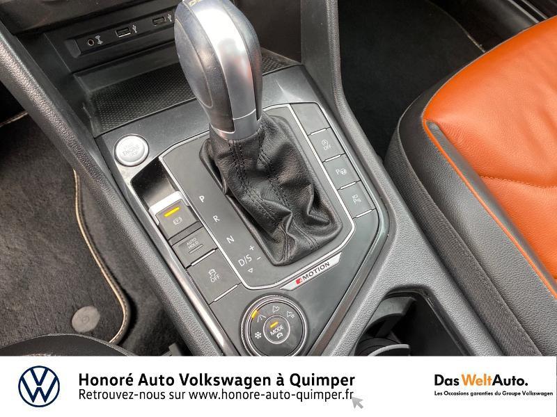 Photo 13 de l'offre de VOLKSWAGEN Tiguan 2.0 TDI 190ch Carat Exclusive 4Motion DSG7 à 26890€ chez Honore Auto - Volkswagen Quimper