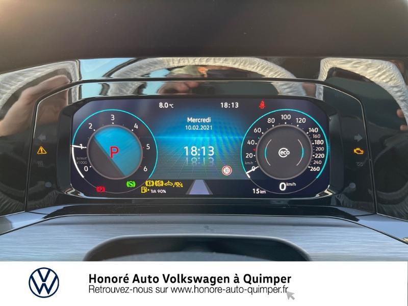 Photo 9 de l'offre de VOLKSWAGEN Golf SW 2.0 TDI SCR 150ch Style DSG7 à 33900€ chez Honore Auto - Volkswagen Quimper