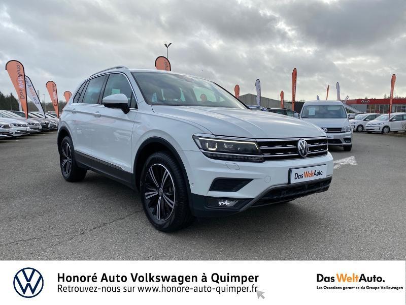 Photo 18 de l'offre de VOLKSWAGEN Tiguan 2.0 TDI 190ch Carat Exclusive 4Motion DSG7 à 26890€ chez Honore Auto - Volkswagen Quimper