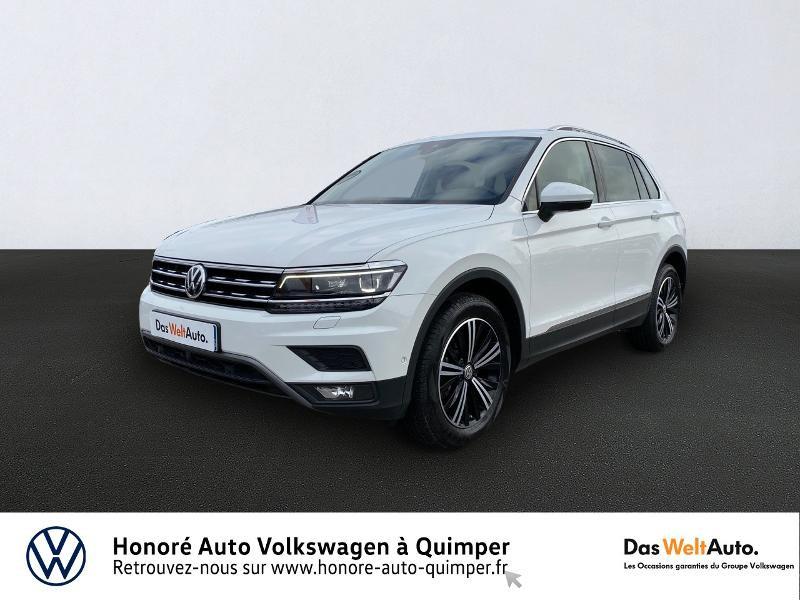 Photo 3 de l'offre de VOLKSWAGEN Tiguan 2.0 TDI 190ch Carat Exclusive 4Motion DSG7 à 26890€ chez Honore Auto - Volkswagen Quimper