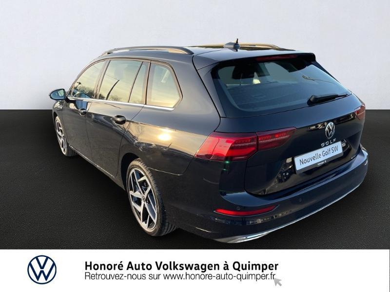 Photo 3 de l'offre de VOLKSWAGEN Golf SW 2.0 TDI SCR 150ch Style DSG7 à 33900€ chez Honore Auto - Volkswagen Quimper