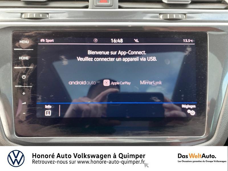 Photo 11 de l'offre de VOLKSWAGEN Tiguan 2.0 TDI 190ch Carat Exclusive 4Motion DSG7 à 26890€ chez Honore Auto - Volkswagen Quimper