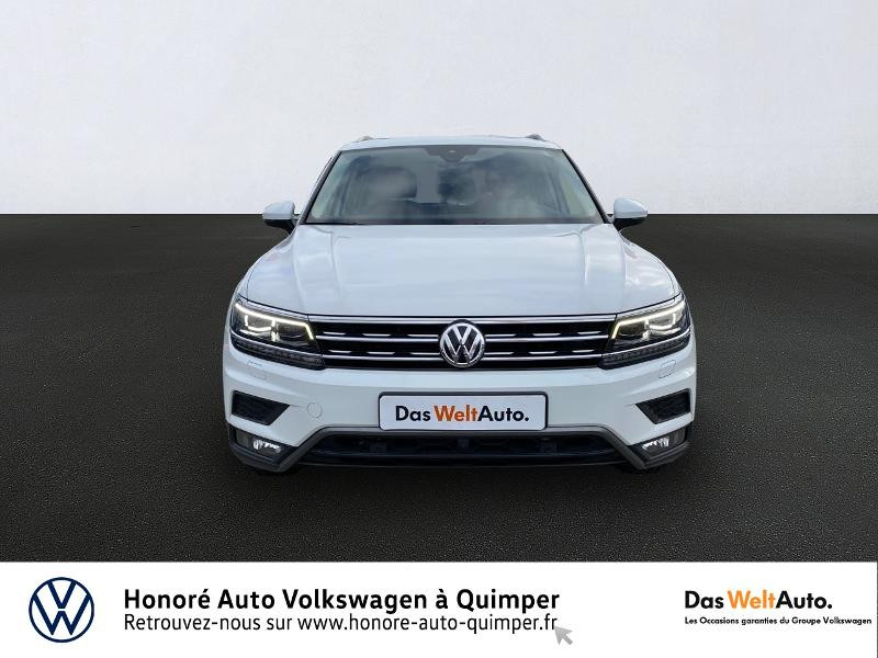 Photo 2 de l'offre de VOLKSWAGEN Tiguan 2.0 TDI 190ch Carat Exclusive 4Motion DSG7 à 26890€ chez Honore Auto - Volkswagen Quimper