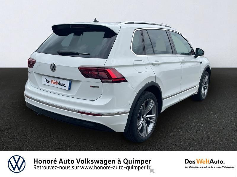 Photo 2 de l'offre de VOLKSWAGEN Tiguan 2.0 TDI 190ch Carat Exclusive 4Motion DSG7 à 27490€ chez Honore Auto - Volkswagen Quimper