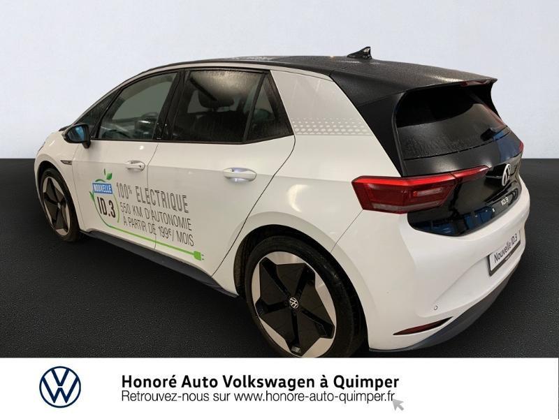 Photo 3 de l'offre de VOLKSWAGEN ID.3 204ch 1st MAX à 33800€ chez Honore Auto - Volkswagen Quimper