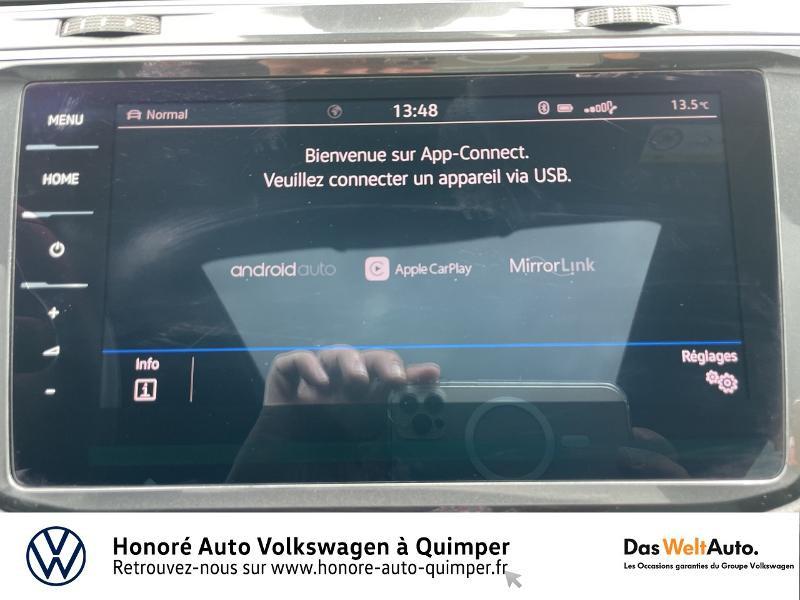 Photo 16 de l'offre de VOLKSWAGEN Tiguan 2.0 TDI 190ch Carat Exclusive 4Motion DSG7 à 27490€ chez Honore Auto - Volkswagen Quimper