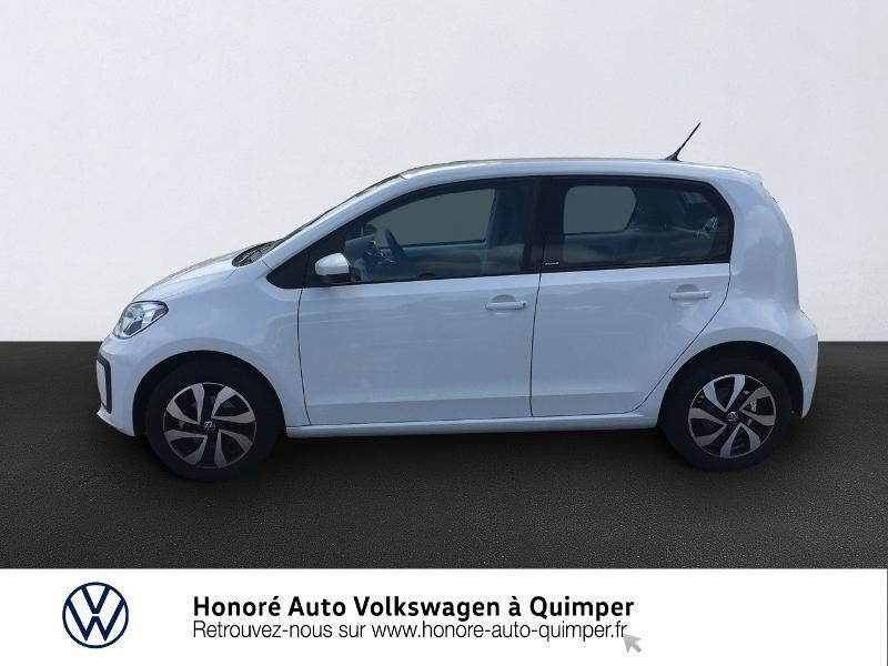 Photo 2 de l'offre de VOLKSWAGEN up! 1.0 65ch BlueMotion Technology Active 5p à 13600€ chez Honore Auto - Volkswagen Quimper