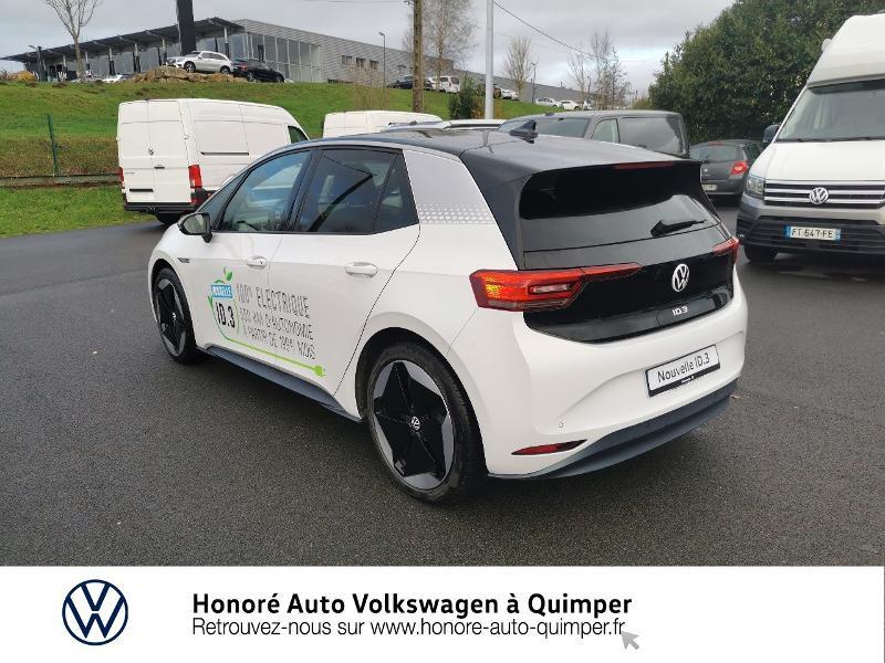 Photo 23 de l'offre de VOLKSWAGEN ID.3 204ch 1st Max à 33800€ chez Honore Auto - Volkswagen Quimper
