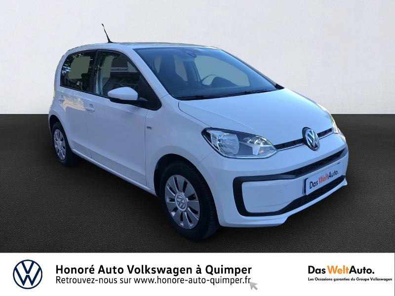 Volkswagen up! 1.0 60ch up! Connect 5p Essence BLANC CANDY Occasion à vendre