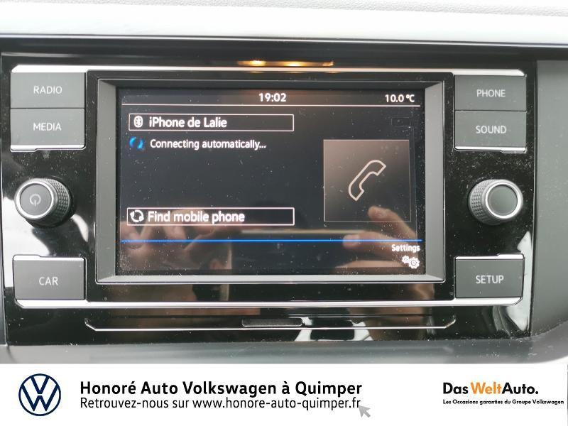 Photo 13 de l'offre de VOLKSWAGEN Polo 1.0 MPI 65ch Trendline Euro6d-T à 12490€ chez Honore Auto - Volkswagen Quimper