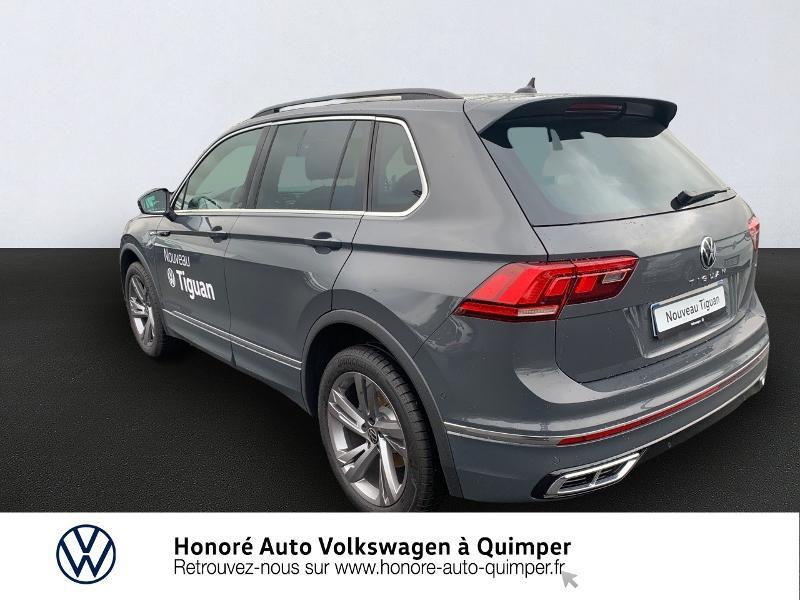 Photo 3 de l'offre de VOLKSWAGEN Tiguan 2.0 TDI 150ch R-Line 4Motion DSG7 à 39900€ chez Honore Auto - Volkswagen Quimper