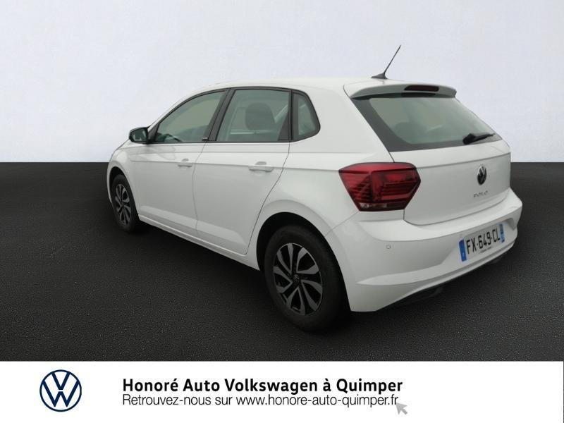 Photo 3 de l'offre de VOLKSWAGEN Polo 1.0 TSI 95ch Active BVM5 à 16900€ chez Honore Auto - Volkswagen Quimper