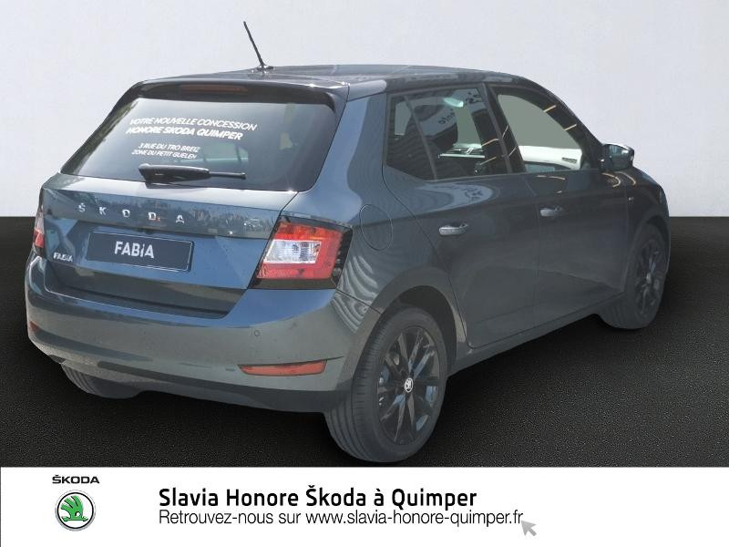 Photo 4 de l'offre de SKODA Fabia 1.0 TSI 95ch Clever Euro6d-T à 14490€ chez Honore Auto - Volkswagen Quimper