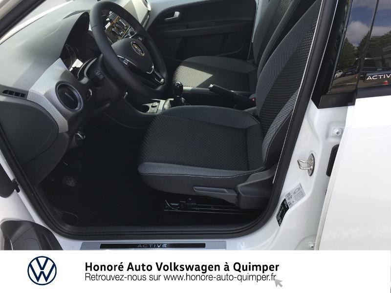 Photo 7 de l'offre de VOLKSWAGEN up! 1.0 65ch BlueMotion Technology Active 5p à 13600€ chez Honore Auto - Volkswagen Quimper