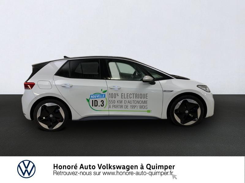 Photo 4 de l'offre de VOLKSWAGEN ID.3 204ch 1st MAX à 33800€ chez Honore Auto - Volkswagen Quimper