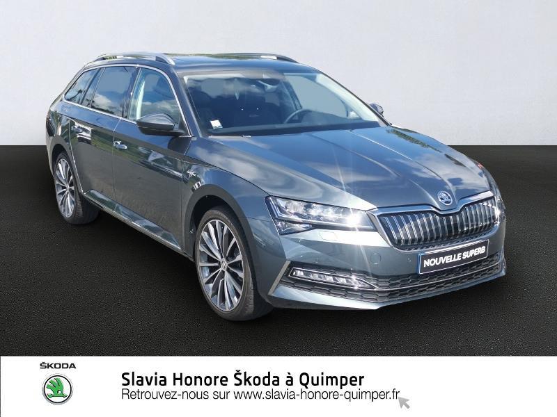 Skoda Superb Combi 1.4 TSI PHEV 218ch Laurin&Klement DSG6 Euro6d-T EVAP 8cv Hybride GRIS METEORE Occasion à vendre