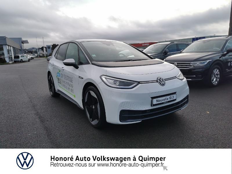 Photo 21 de l'offre de VOLKSWAGEN ID.3 204ch 1st Max à 33800€ chez Honore Auto - Volkswagen Quimper