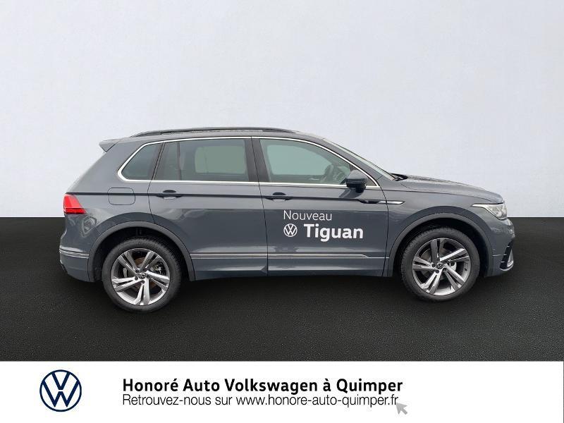 Photo 4 de l'offre de VOLKSWAGEN Tiguan 2.0 TDI 150ch R-Line 4Motion DSG7 à 39900€ chez Honore Auto - Volkswagen Quimper