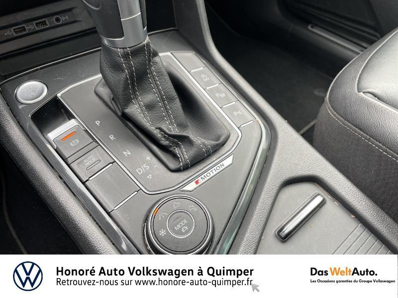 Photo 19 de l'offre de VOLKSWAGEN Tiguan 2.0 TDI 190ch Carat Exclusive 4Motion DSG7 à 27490€ chez Honore Auto - Volkswagen Quimper