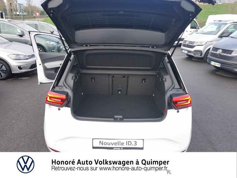 Photo 12 de l'offre de VOLKSWAGEN ID.3 204ch 1st Max à 33800€ chez Honore Auto - Volkswagen Quimper