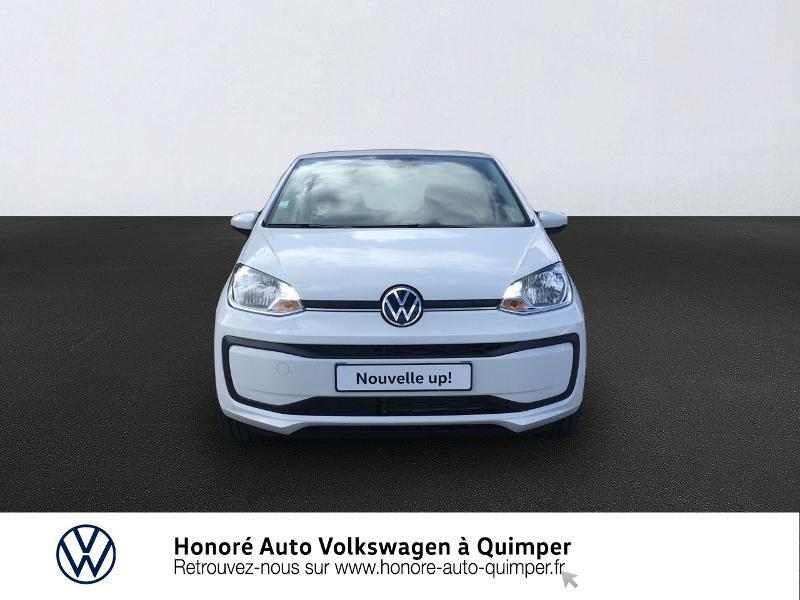 Photo 3 de l'offre de VOLKSWAGEN up! 1.0 65ch BlueMotion Technology Active 5p à 13600€ chez Honore Auto - Volkswagen Quimper