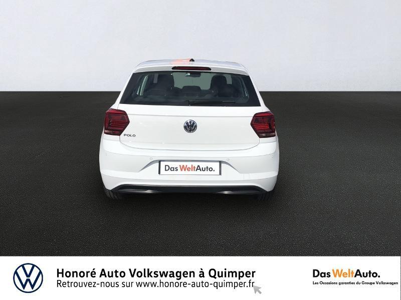 Photo 5 de l'offre de VOLKSWAGEN Polo 1.0 MPI 65ch Trendline Euro6d-T à 12490€ chez Honore Auto - Volkswagen Quimper