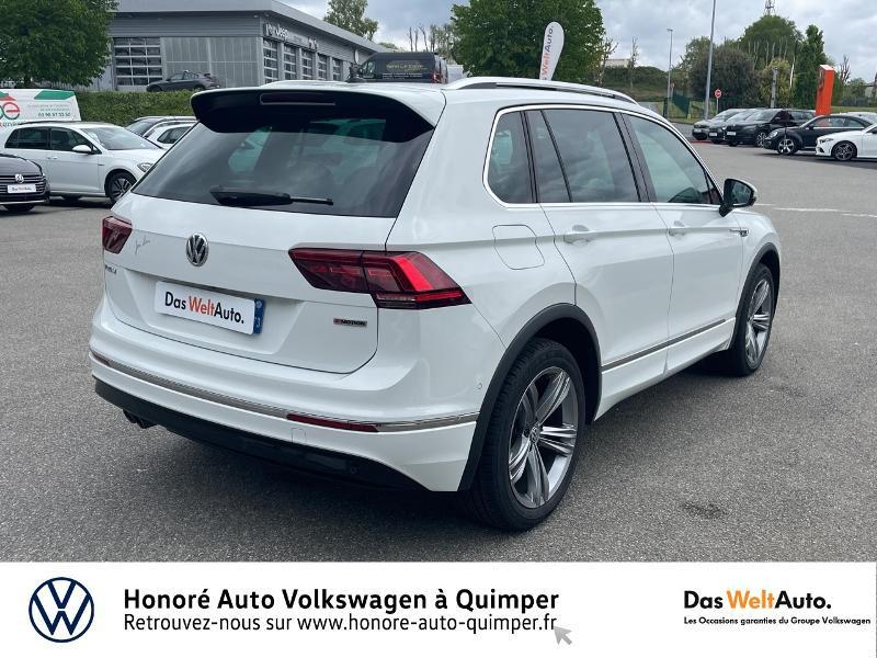 Photo 24 de l'offre de VOLKSWAGEN Tiguan 2.0 TDI 190ch Carat Exclusive 4Motion DSG7 à 27490€ chez Honore Auto - Volkswagen Quimper