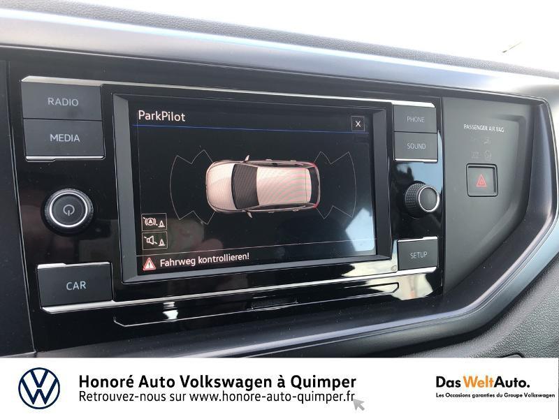 Photo 15 de l'offre de VOLKSWAGEN Polo 1.0 MPI 65ch Trendline Euro6d-T à 12490€ chez Honore Auto - Volkswagen Quimper