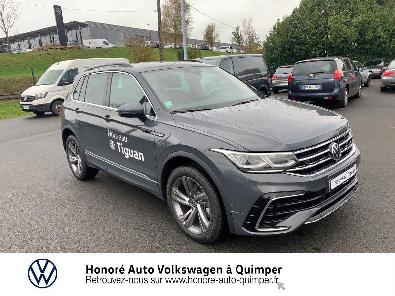Photo 17 de l'offre de VOLKSWAGEN Tiguan 2.0 TDI 150ch R-Line 4Motion DSG7 à 39900€ chez Honore Auto - Volkswagen Quimper