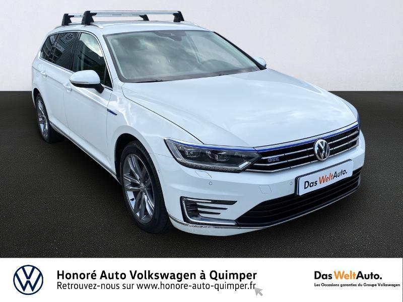 Volkswagen Passat SW 1.4 TSI 218ch GTE DSG6 Hybride BLANC Occasion à vendre