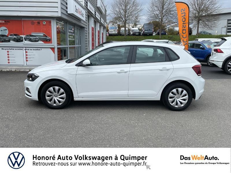 Photo 22 de l'offre de VOLKSWAGEN Polo 1.0 MPI 65ch Trendline Euro6d-T à 13490€ chez Honore Auto - Volkswagen Quimper