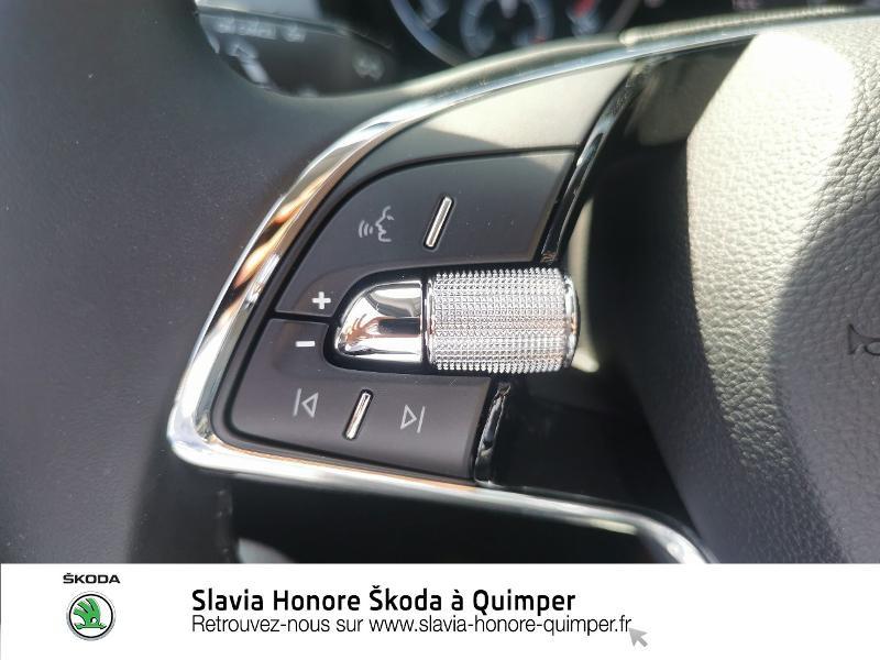 Photo 14 de l'offre de SKODA Fabia 1.0 TSI 95ch Clever Euro6d-T à 14490€ chez Honore Auto - Volkswagen Quimper