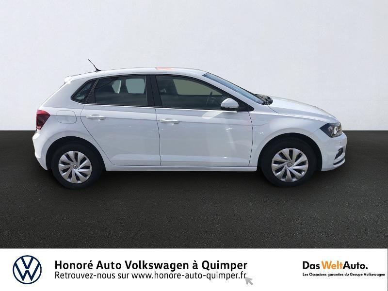 Photo 3 de l'offre de VOLKSWAGEN Polo 1.0 MPI 65ch Trendline Euro6d-T à 12490€ chez Honore Auto - Volkswagen Quimper
