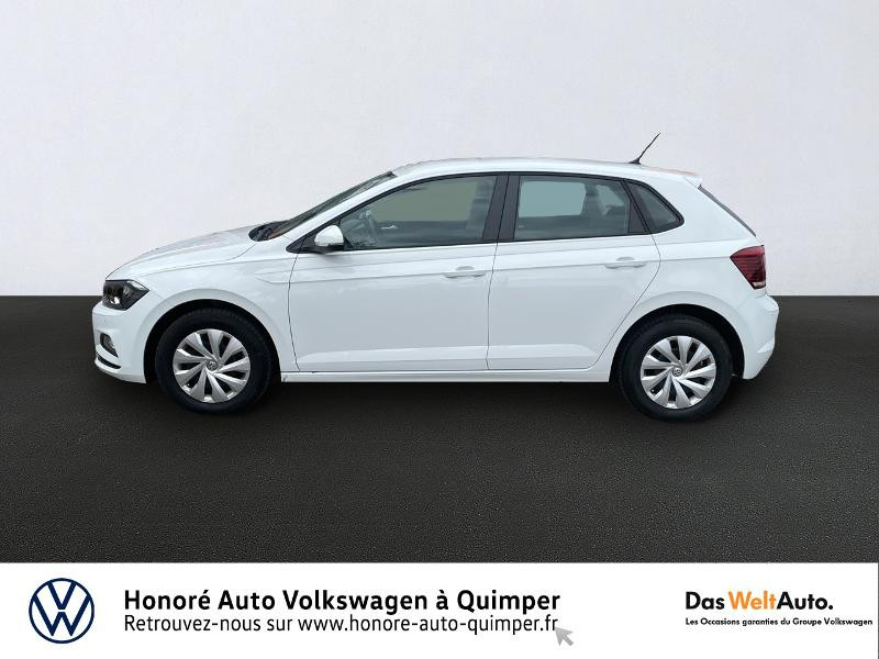 Photo 2 de l'offre de VOLKSWAGEN Polo 1.0 MPI 65ch Trendline Euro6d-T à 13490€ chez Honore Auto - Volkswagen Quimper