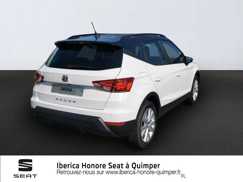 Photo 4 de l'offre de SEAT Arona 1.0 EcoTSI 95ch Start/Stop Urban Euro6d-T à 17790€ chez Honore Auto - Volkswagen Quimper