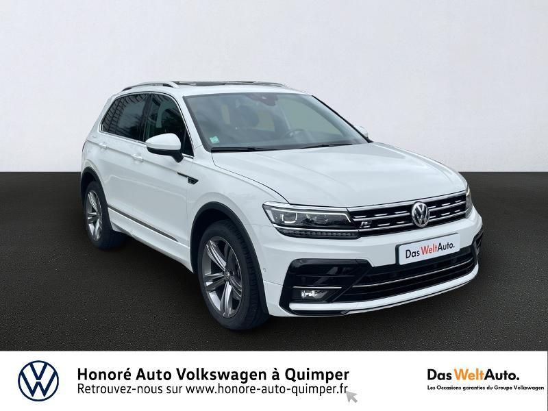 Photo 1 de l'offre de VOLKSWAGEN Tiguan 2.0 TDI 190ch Carat Exclusive 4Motion DSG7 à 27490€ chez Honore Auto - Volkswagen Quimper