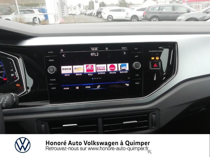 Photo 8 de l'offre de VOLKSWAGEN Polo 1.0 TSI 95ch Active BVM5 à 16900€ chez Honore Auto - Volkswagen Quimper